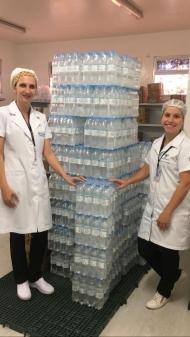 Hospital Ouro Branco, de Teutônia, recebeu a doação de água - Divulgação