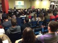 Nelson Eggers: palestra em Bento Gonçalves